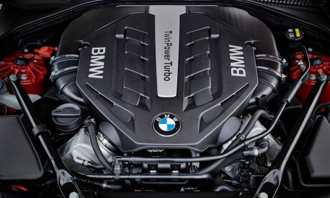 2018 BMW M3 engine