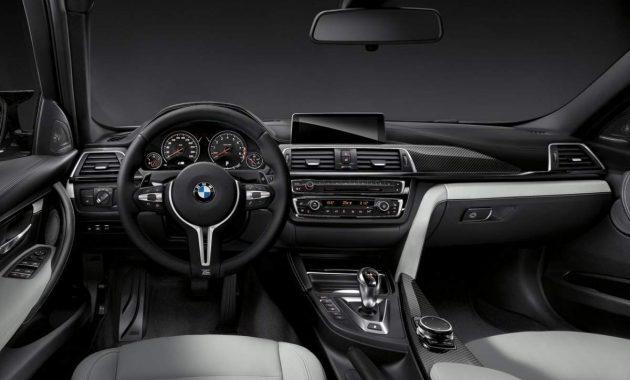 2018 BMW M3 interior