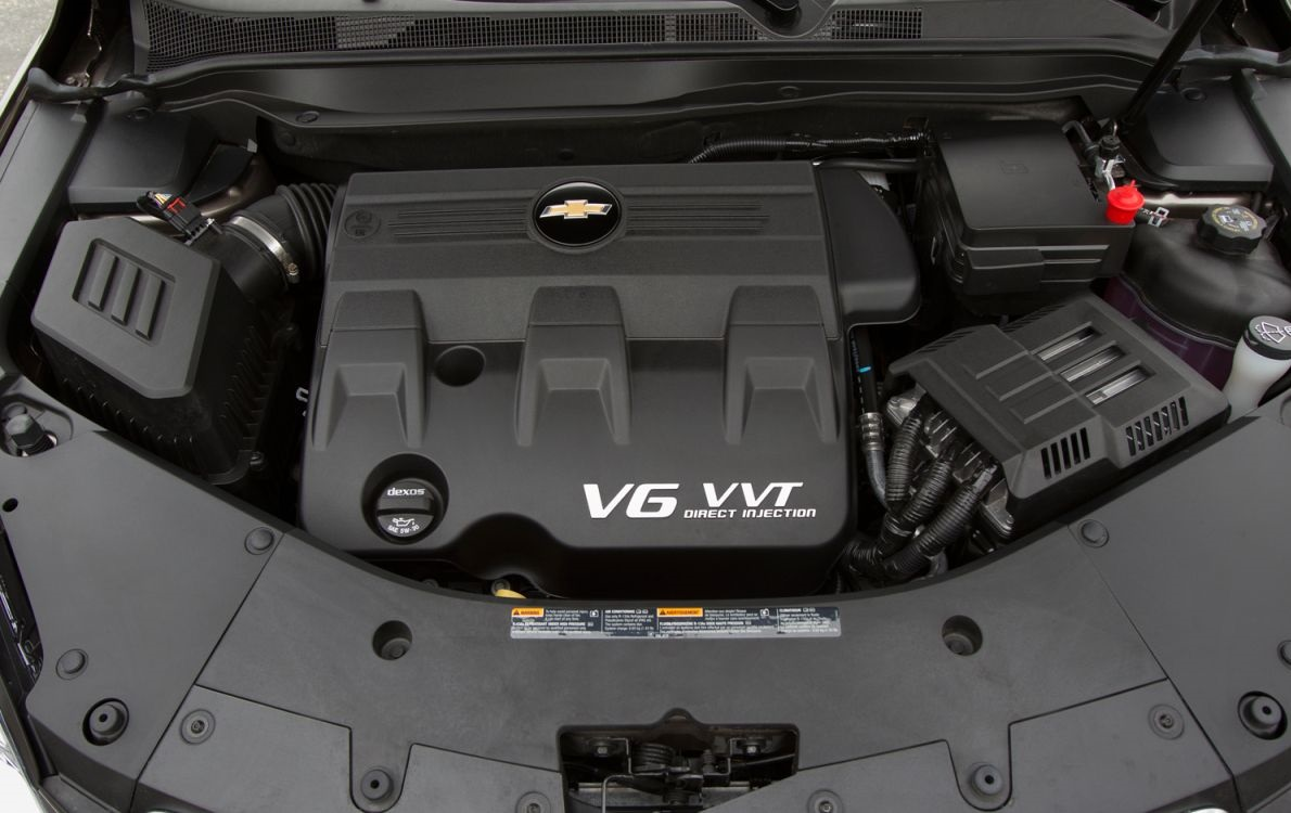 2018 Chevrolet Trax engine