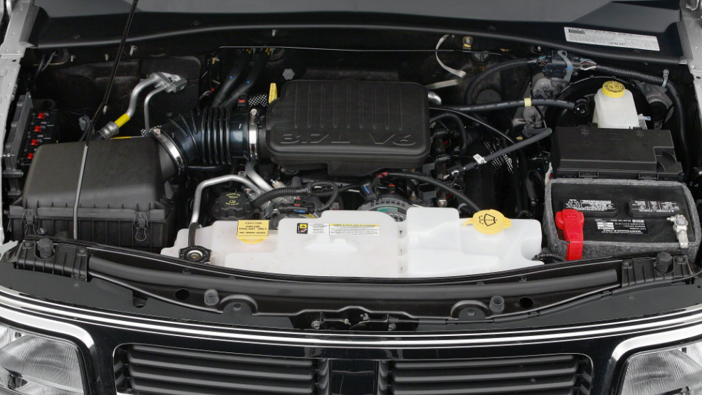 2018 Dodge Nitro Engine