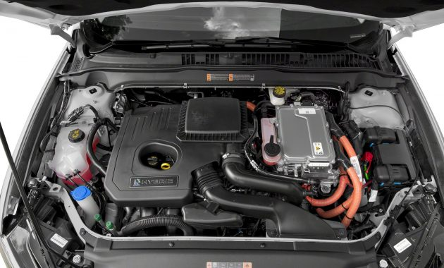 2018 Ford Fusion engine
