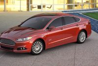 2018 Ford Fusion exterior