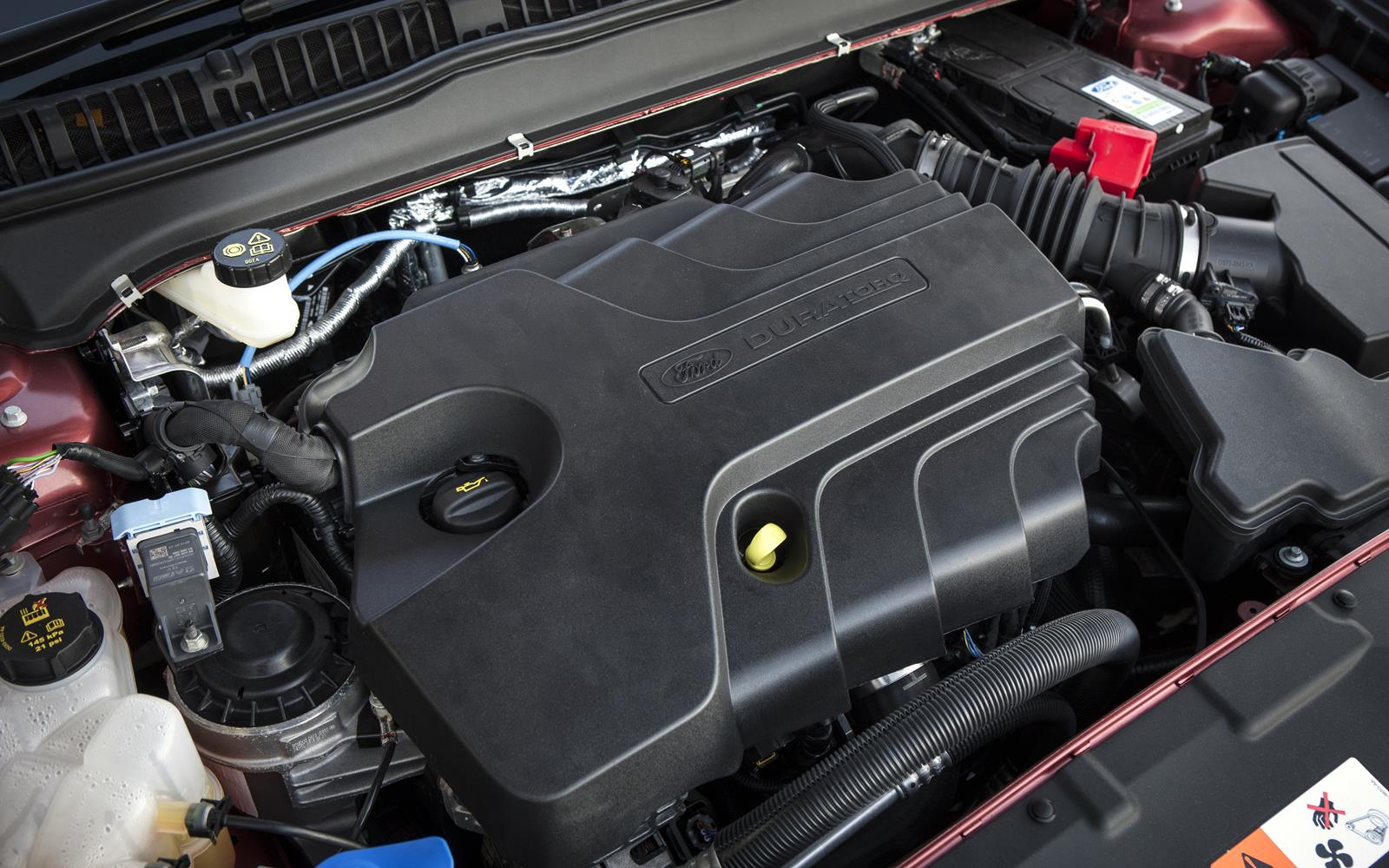 2018 Ford Mondeo Vignale engine