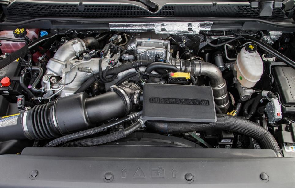 2018 GMC Denali Engine