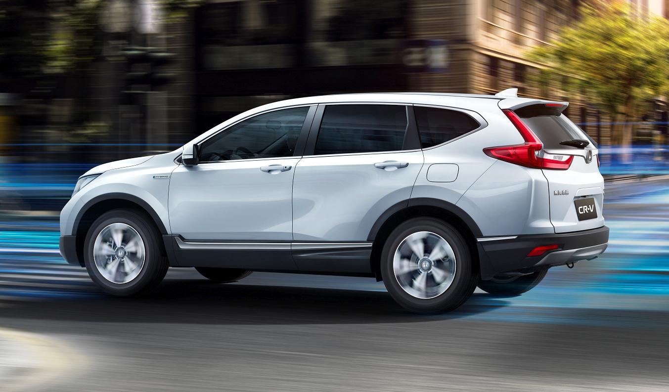 2018 Honda CRV exterior
