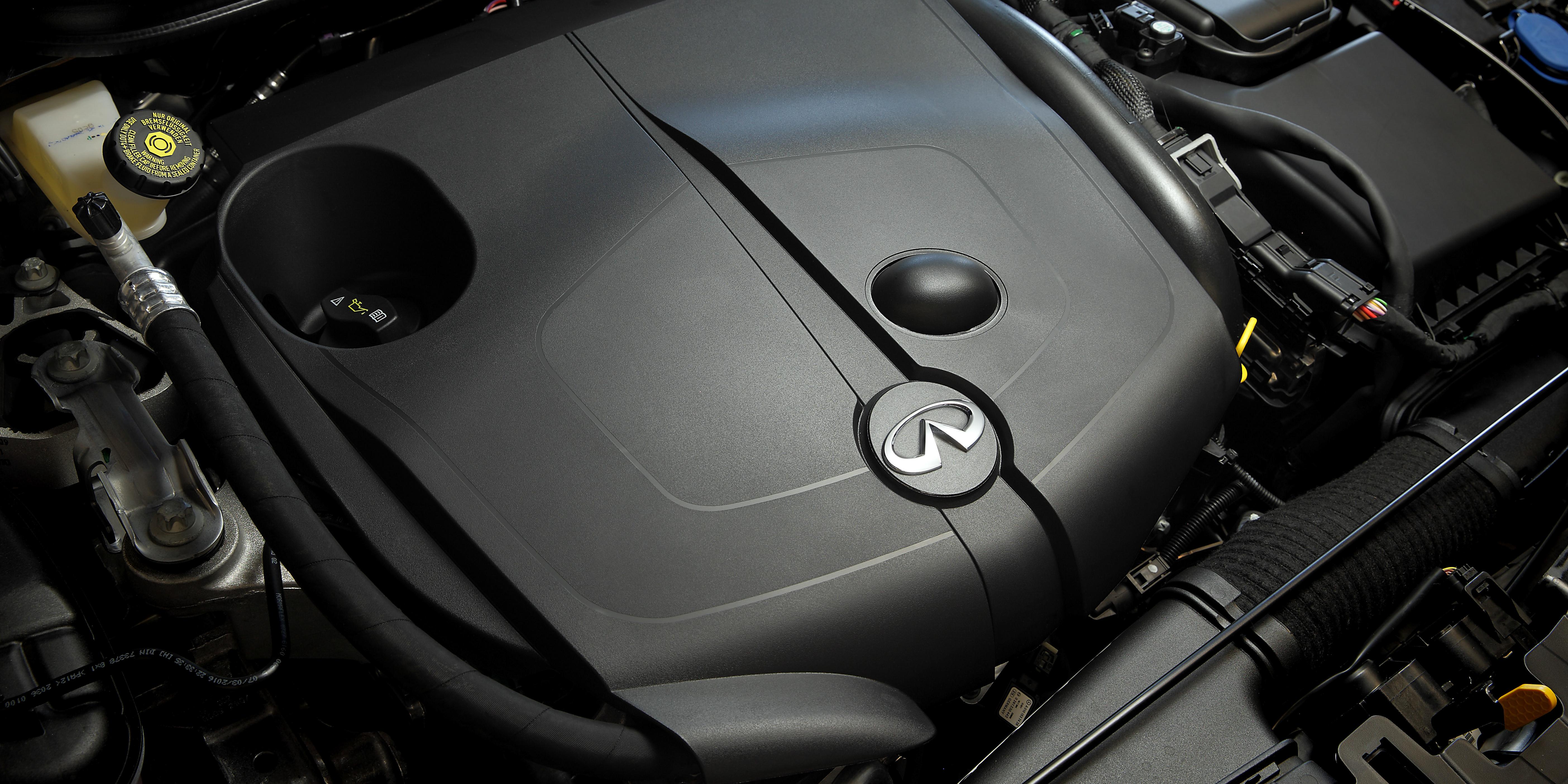 2018 Infiniti Q30 engine
