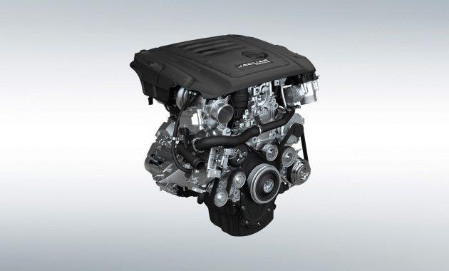 2018 Jaguar XE engine 2