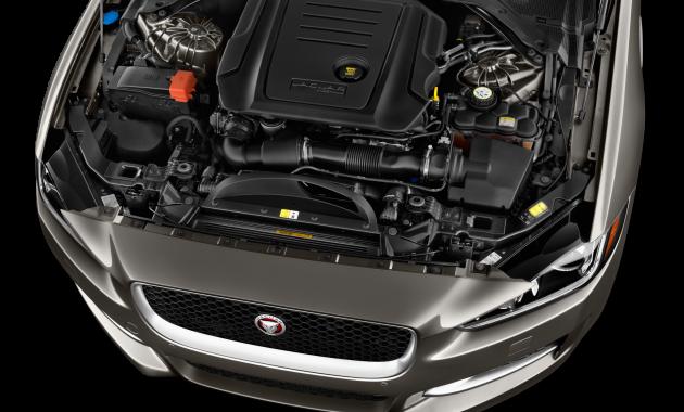 2018 Jaguar XE engine
