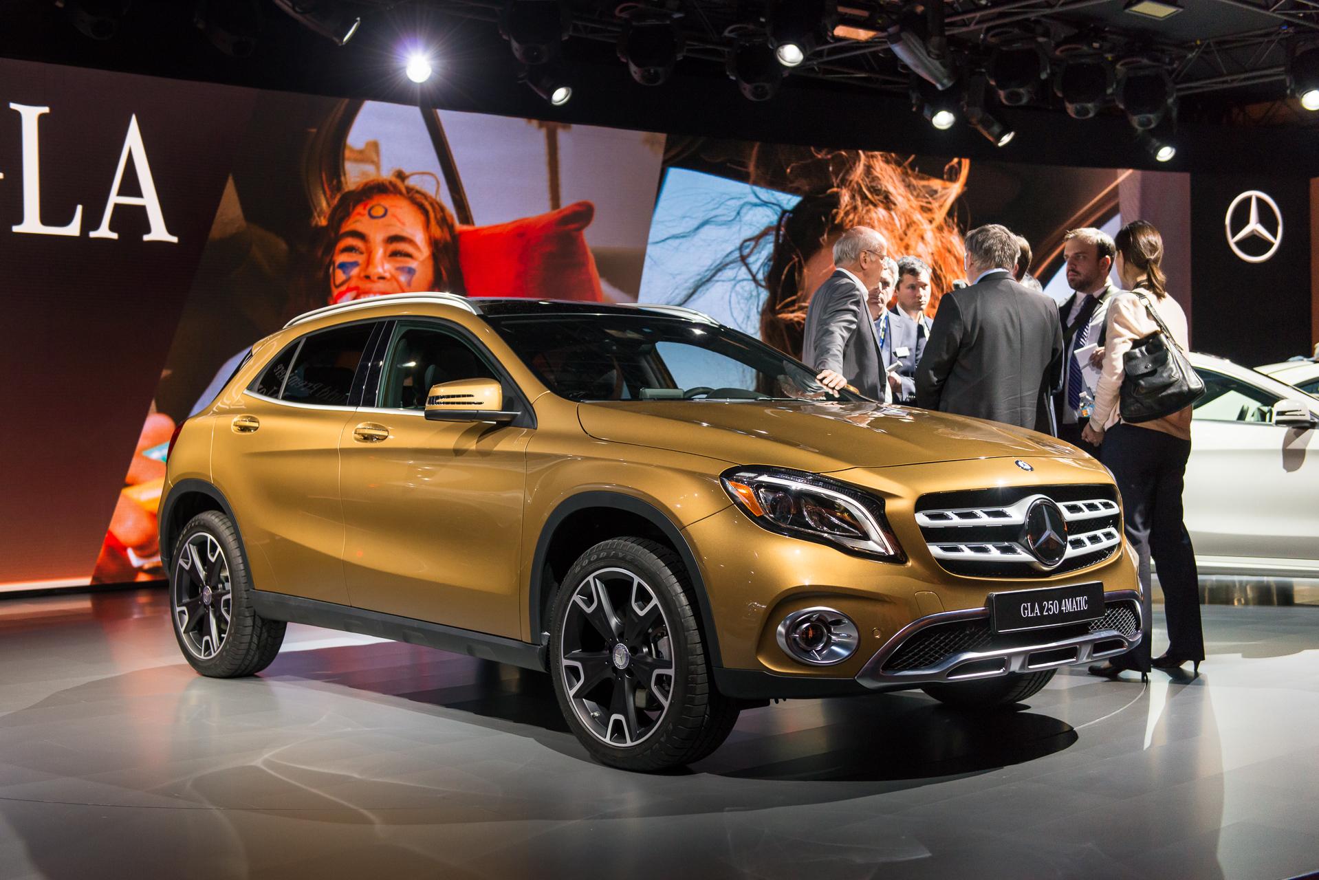 2018 Mercedes-Benz GLA-Class price