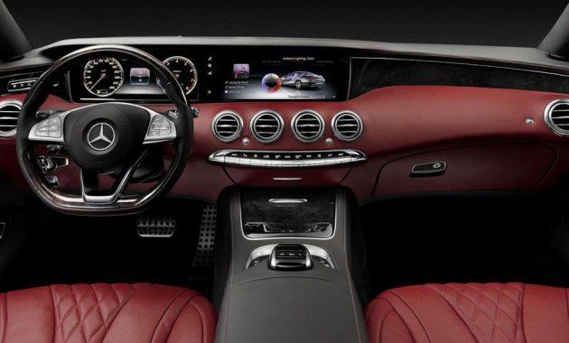 2018 Mercedes-Benz S-Class Coupe interior