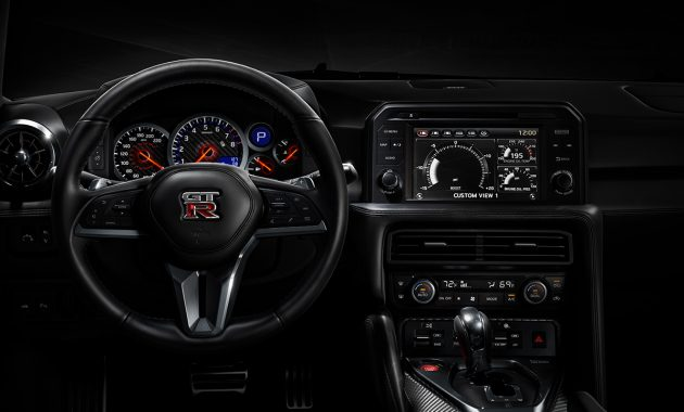 2018 Nissan GT-R Nismo technology