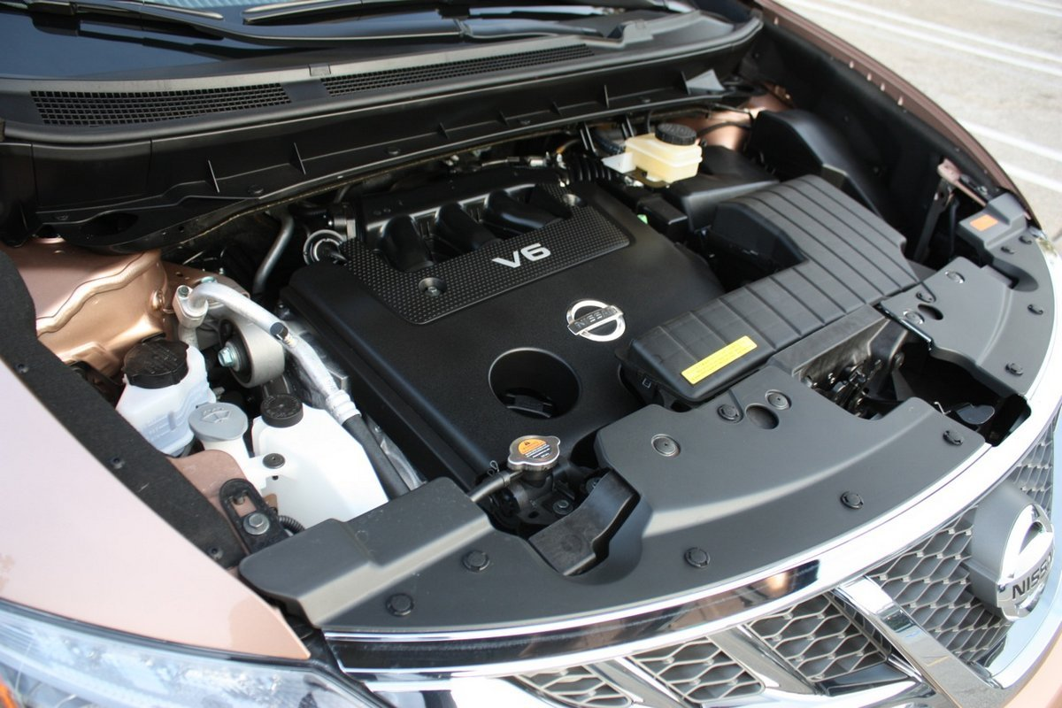 2018 Nissan Murano engine