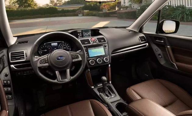2018 Subaru Forester Interior