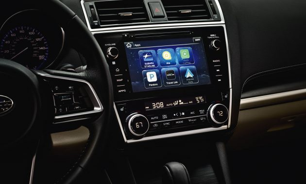 2018 Subaru Legacy technology