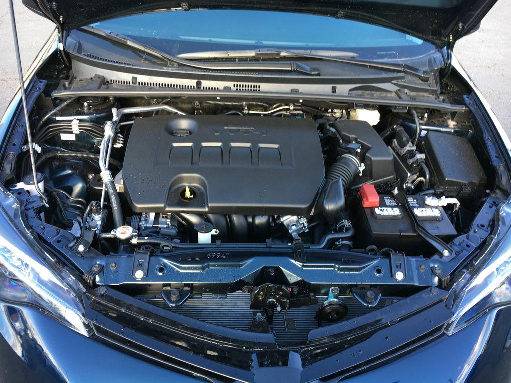 2018 Toyota Corolla engine