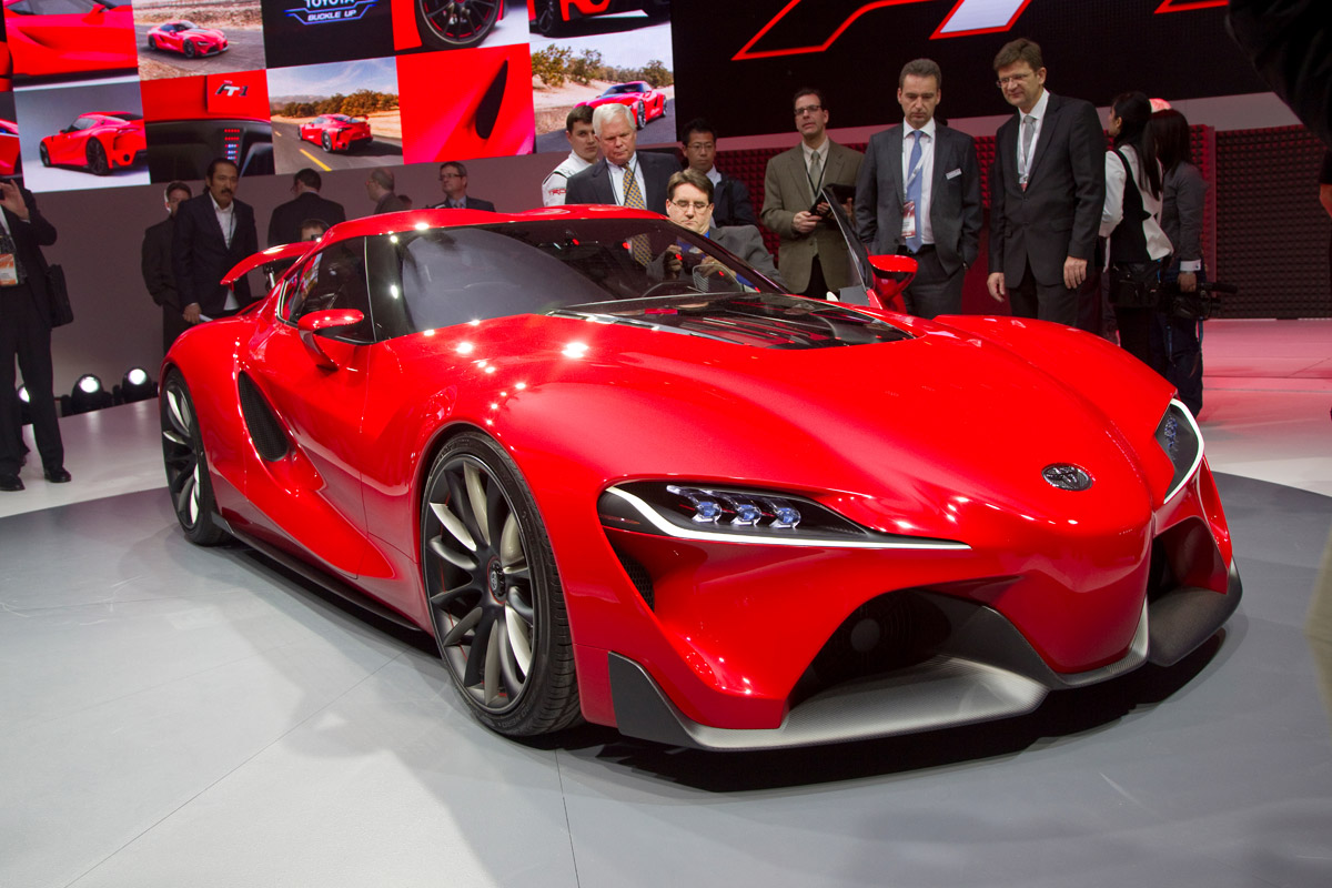 2018 Toyota FT-1 price