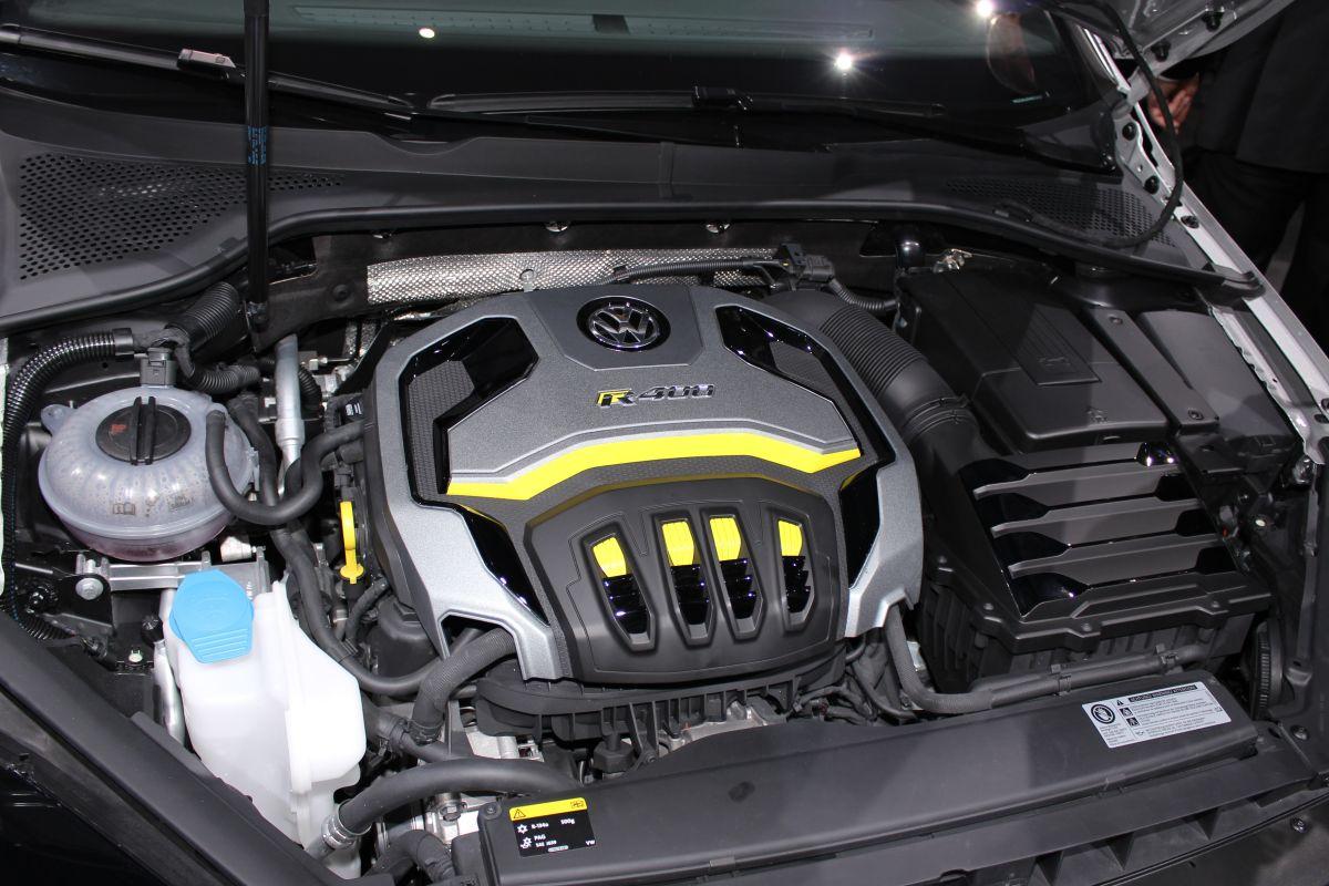 2018 Volkswagen Golf engine
