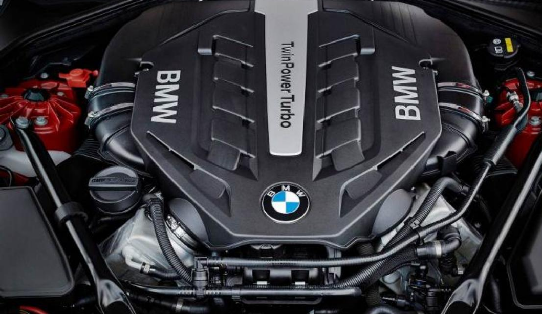 2018 BMW 650i Engine