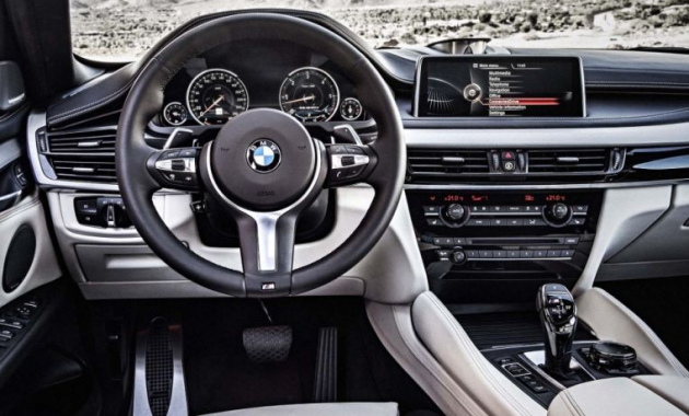 2018 BMW X6 M Interior