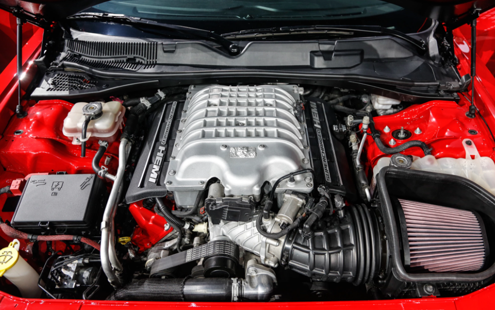 2018 Dodge Challenger Engine