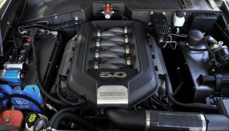 2018 Ford Wrangler Engine