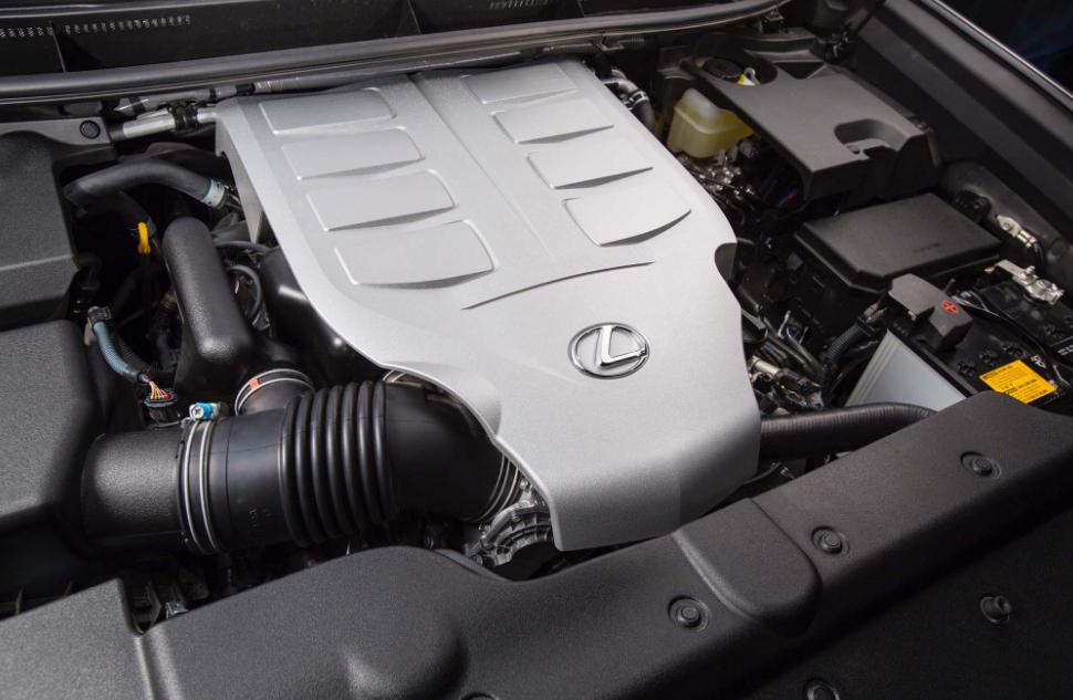 2018 Lexus GX460 Engine