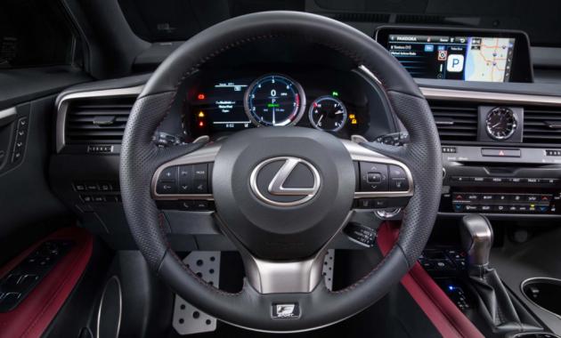 2018 Lexus RX 350 Interior