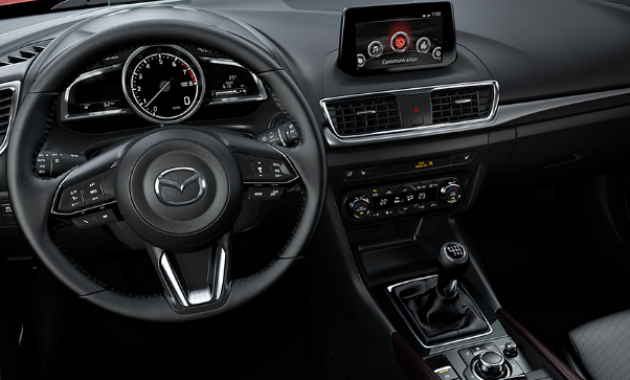 2018 Mazda 3 Hatchback Interior