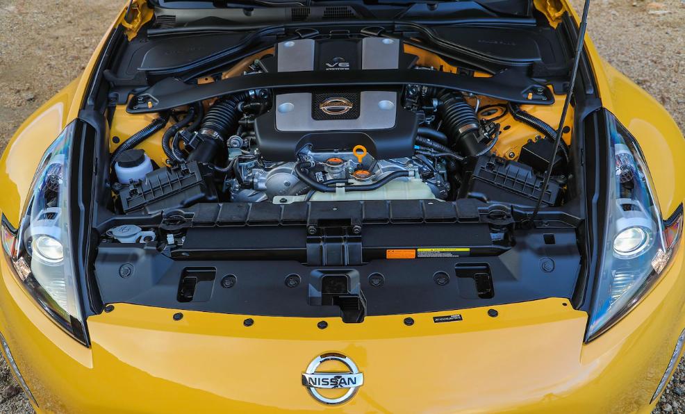 2018 Nissan 370Z Engine