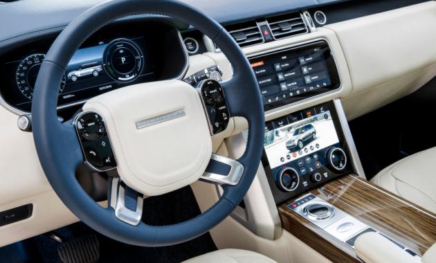 2018 Range Rover Interior