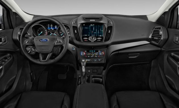 2018 Ford Escape Interior