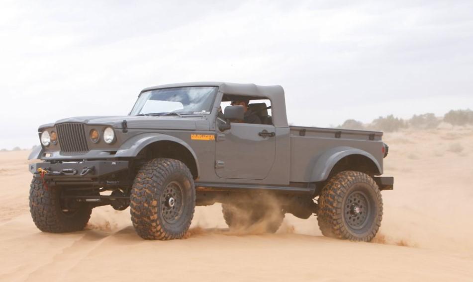 2018 Jeep Wrangler Pickup Concept