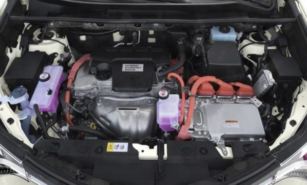 2018 Toyota RAV4 Hybrid Engine