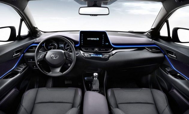 2018 Toyota RAV4 Hybrid Interior